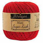 Scheepjes Maxi Sugar Rush - 722 Red