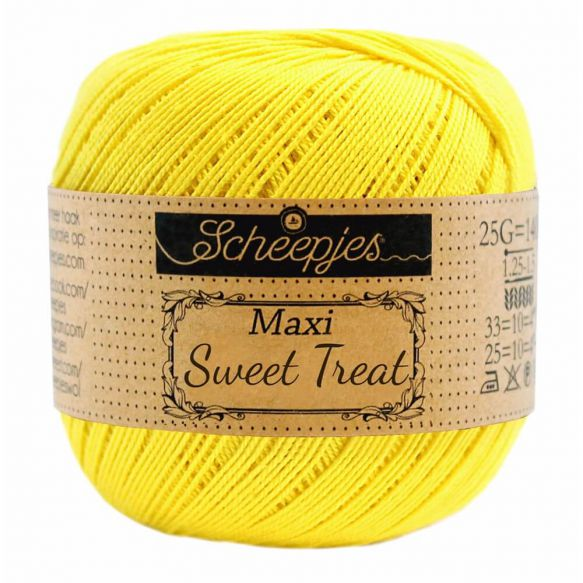 Scheepjes Maxi Sweet Treat - 280 Lemon