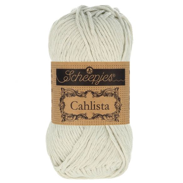 Scheepjes Cahlista 50gm  - 172 Light Silver