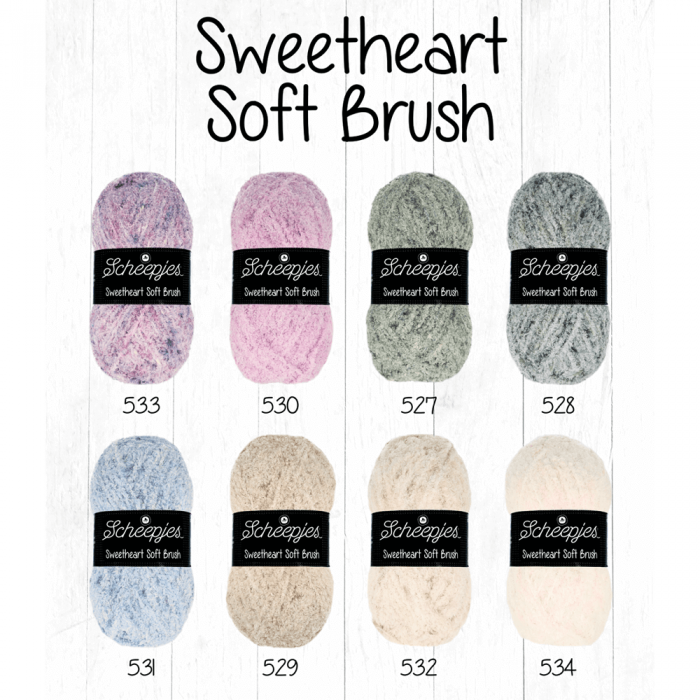 Scheepjes Sweetheart Soft Brush - 528