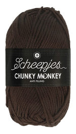 Scheepjes - Chunky Monkey 1004 Chocolate