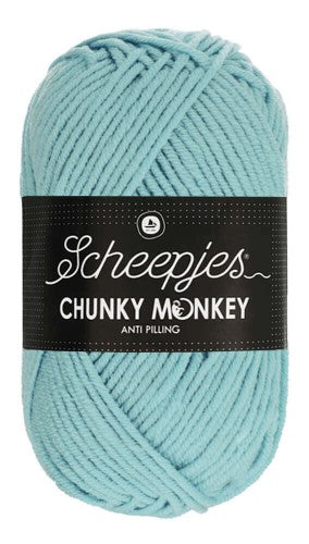 Scheepjes - Chunky Monkey 1019 Powder Blue