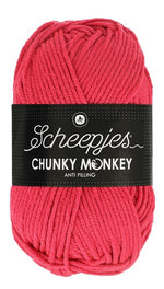 Scheepjes - Chunky Monkey 1083 Candy Apple