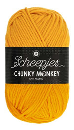 Scheepjes - Chunky Monkey 1114 Golden Yellow