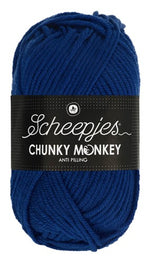 Scheepjes - Chunky Monkey 1117 Royal Blue