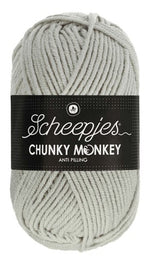 Scheepjes - Chunky Monkey 1203 Pale Grey