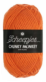 Scheepjes - Chunky Monkey 1711 Deep Orange