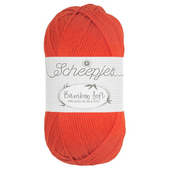 Scheepjes Bamboo Soft  - 261 Regal Orange