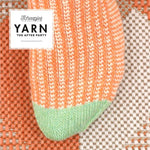Scheepjes Pattern: YARN The After Party no. 53 Twisted Socks by Jane Burns