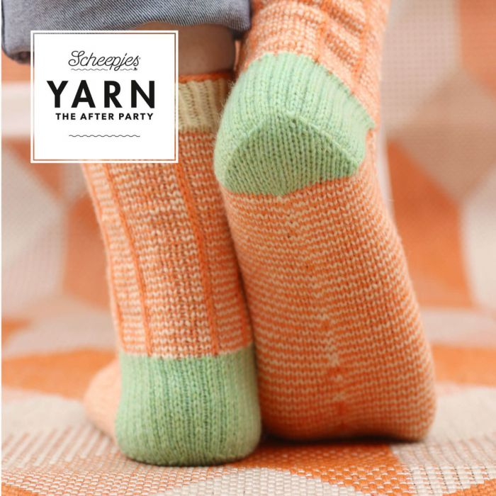 Scheepjes Pattern Kit : YARN The After Party no. 53 Twisted Socks by Jane Burns