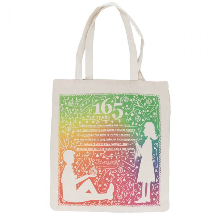AVAILABLE NOW - Scheepjes Canvas Bag - 165 Years LIMITED EDITION