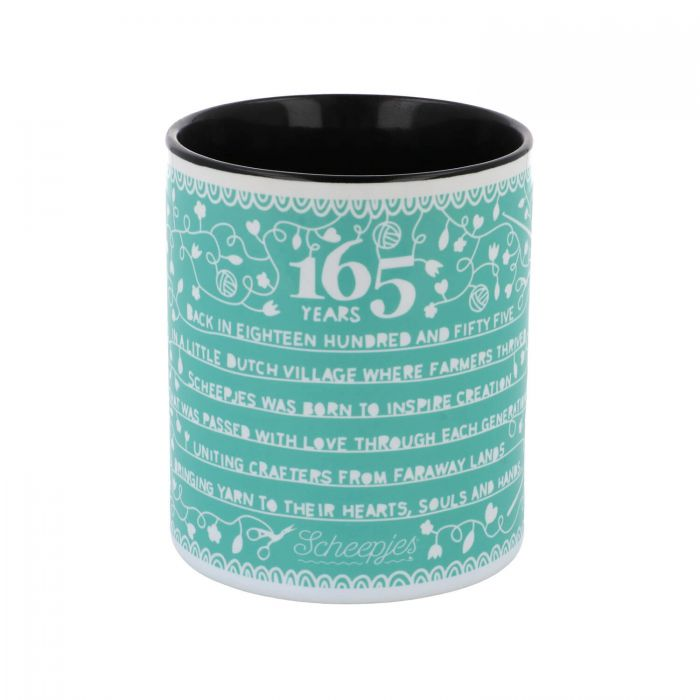 AVAILBLE NOW - Scheepjes Limited Edition Mug - 165 Years