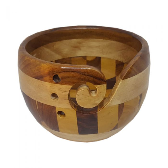 Scheepjes Yarn Bowl - Multi Wood 78562