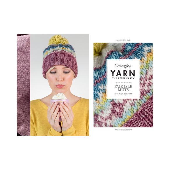 Scheepjes Pattern: YARN The After Party no. 07 Fair Isle Hat by Maya Bosworth
