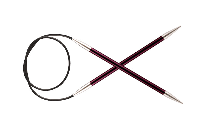 Knit Pro Zing - Fixed Circular Needles 100cm