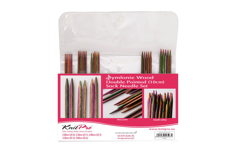 Symfonie Wood Double Pointed (20cm) Sock Needle Set - 20631