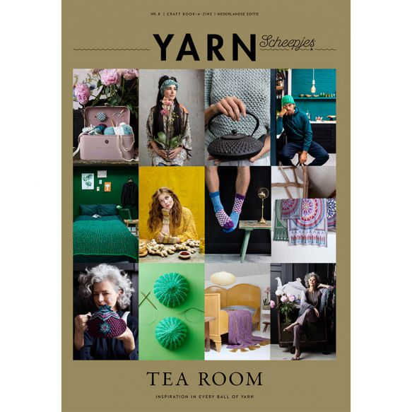 Scheepjes - YARN Bookazine no. 8 Tea Room
