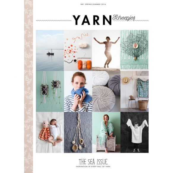Scheepjes - YARN Bookazine no.1: Sea Issue