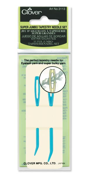 Clover Super Jumbo Tapestry Needle Set