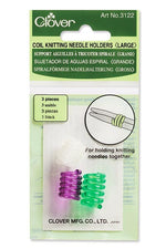 Clover Coil Knitting Needle Holder - Large