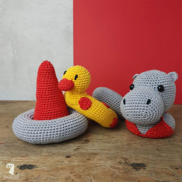 HardiCraft Crochet Kit Eco Friendly - Helga Hippo