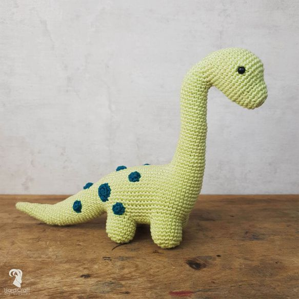 HardiCraft Crochet Kit Eco Friendly - Dino Brontosaurus