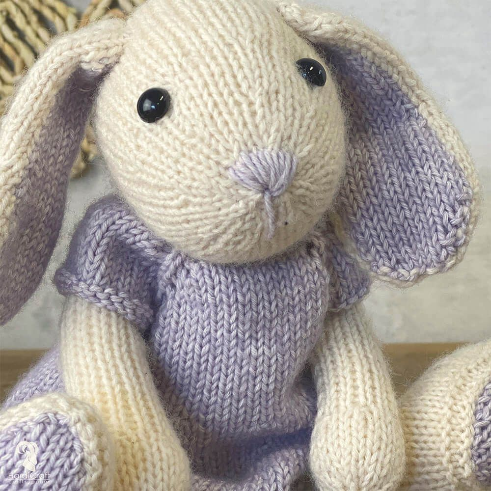 HardiCraft Knitting Amigurumi Kit - Chloë Hare