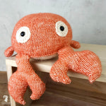 HardiCraft Knitting Amigurumi Kit - Crab Karel