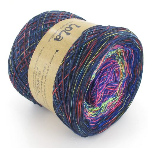 Lola Speckled - Blue -  100gm/375m