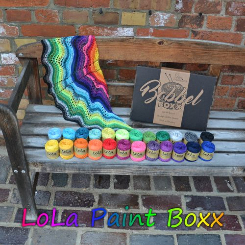 Lola Bobbel Paint Box - 24 x 25gm mini lolas - 600gm