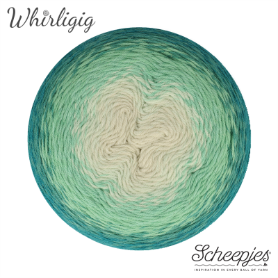 Scheepjes Whirligig - 205 Teal to Ombre