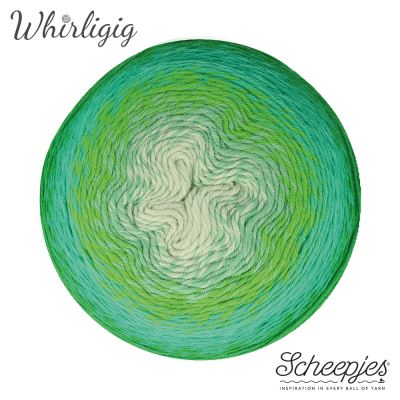 Scheepjes Whirligig - 207 Green to Blue