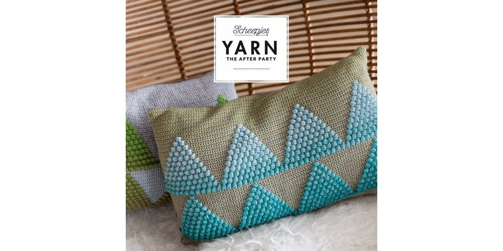 Scheepjes Pattern: YARN The After Party no. 17 Wild Forest Cushions by Esme Crick