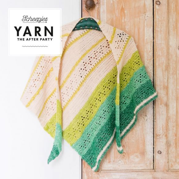 Scheepjes Pattern: YARN The After Party no. 23 Forest Valley Shawl by Christina Hadderingh