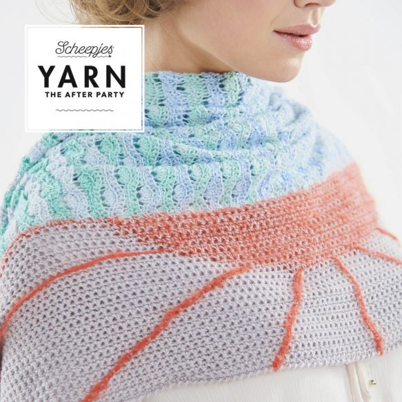 Scheepjes Pattern: YARN The After Party no. 30 Alto Mare Wrap by Gaia Tarantino