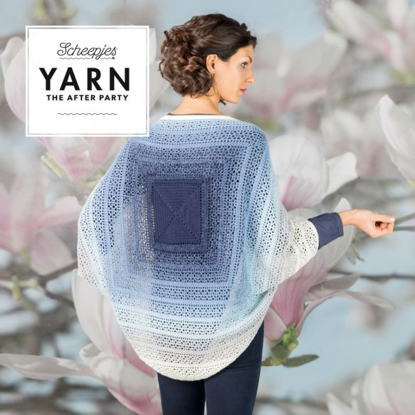 Scheepjes Pattern: YARN The After Party no. 27 Indigo Shrug