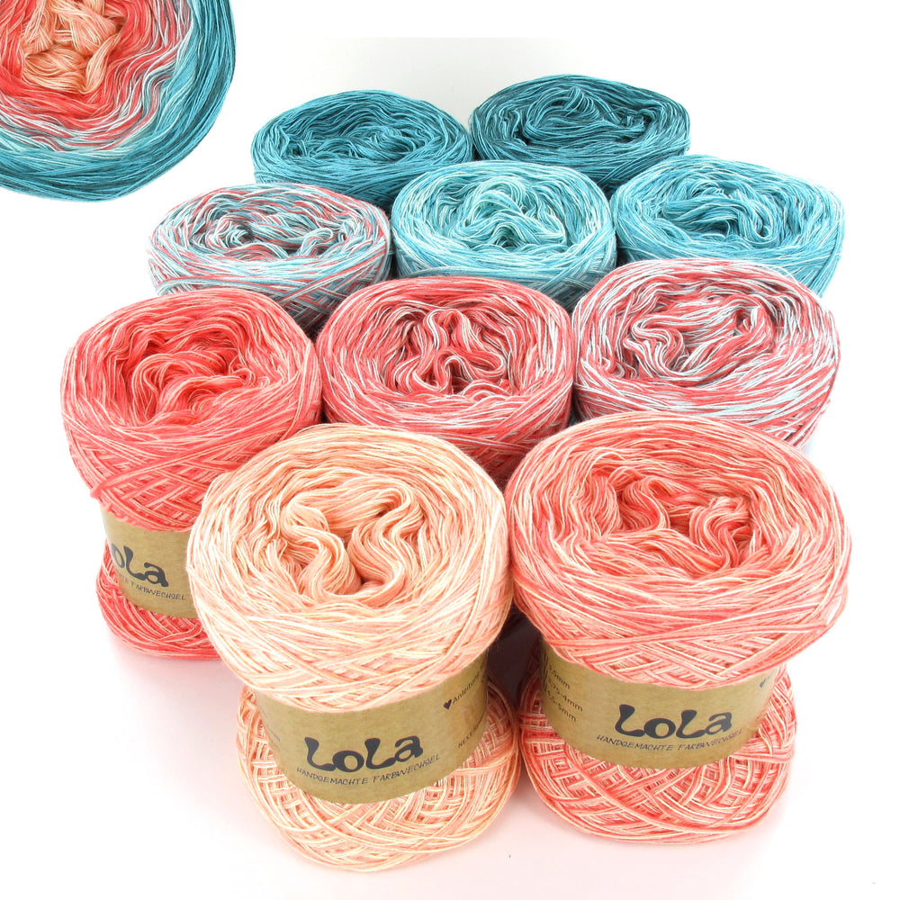 Lola Bobbel Box - Ice Peach - PRE ORDER ONLY