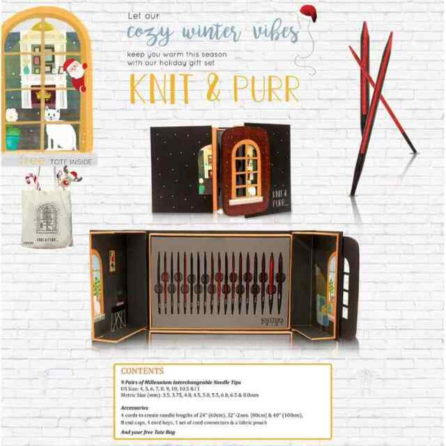 Knit & Purr Gift Set