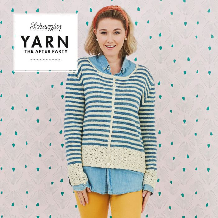 Scheepjes Pattern: YARN The After Party no. 101 Oceanside Cardigan by Simy's Studio
