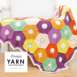 Scheepjes Pattern Kit: YARN The After Party no. 14 Hexagon Blanket by Ester de Beer