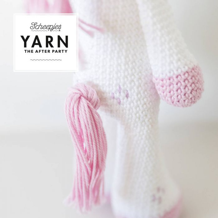 Scheepjes Pattern: YARN The After Party no. 31 Unicorn by Monika Miszczuk