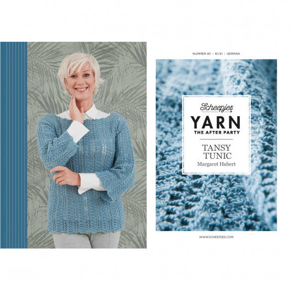 Scheepjes Pattern: YARN The After Party no. 40 Tansy Tunic by Margaret Hubert