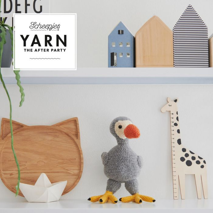 Scheepjes Pattern: YARN The After Party no. 64 Finn the Dodo by Mike Brooks