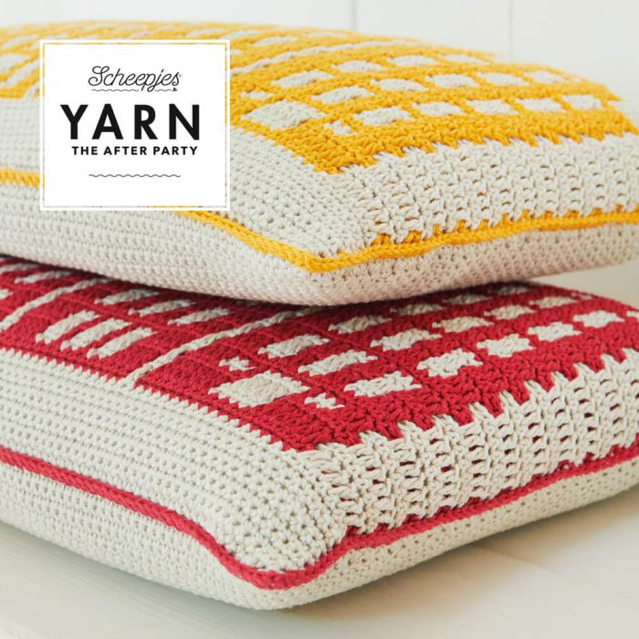 Scheepjes Pattern: YARN The After Party no. 80 Canal Houses by Esme Crick