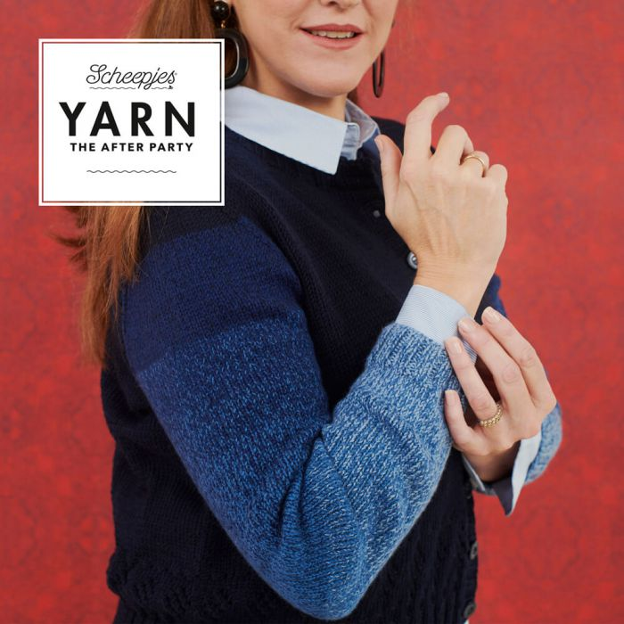 Scheepjes Pattern: YARN The After Party no. 93 Hip Dip Cardigan