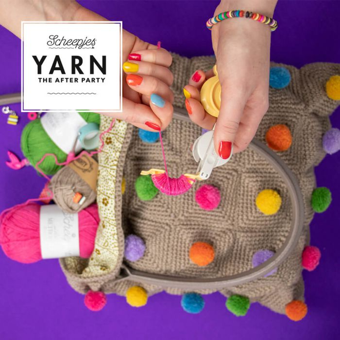 Scheepjes Pattern: YARN The After Party no. 97 Polka Pop Tote