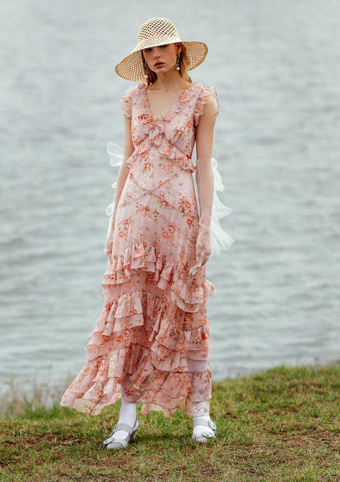 Sweet Time Garden Dress