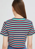 Stripe Crop T-Shirt