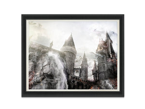 Draco Dormiens (Harry Potter) - Canvas Limited Edition