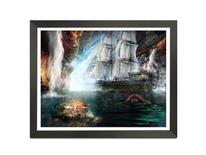 Hey You Guuuys! (The Goonies) - Canvas Limited Edition